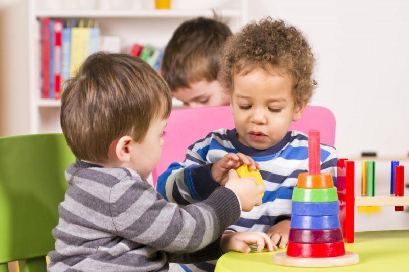 enseñar niños compartir